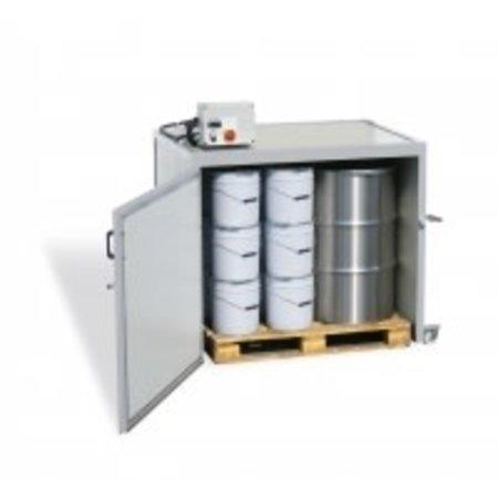Heating cabine (Lega) - 2 x 300kg drum