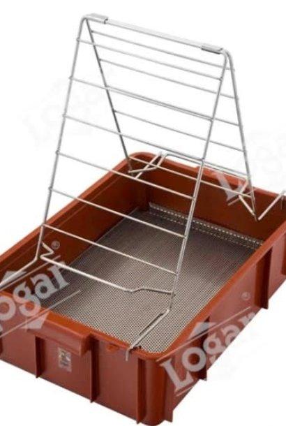 Plastic uncapping tray - Logar 8030
