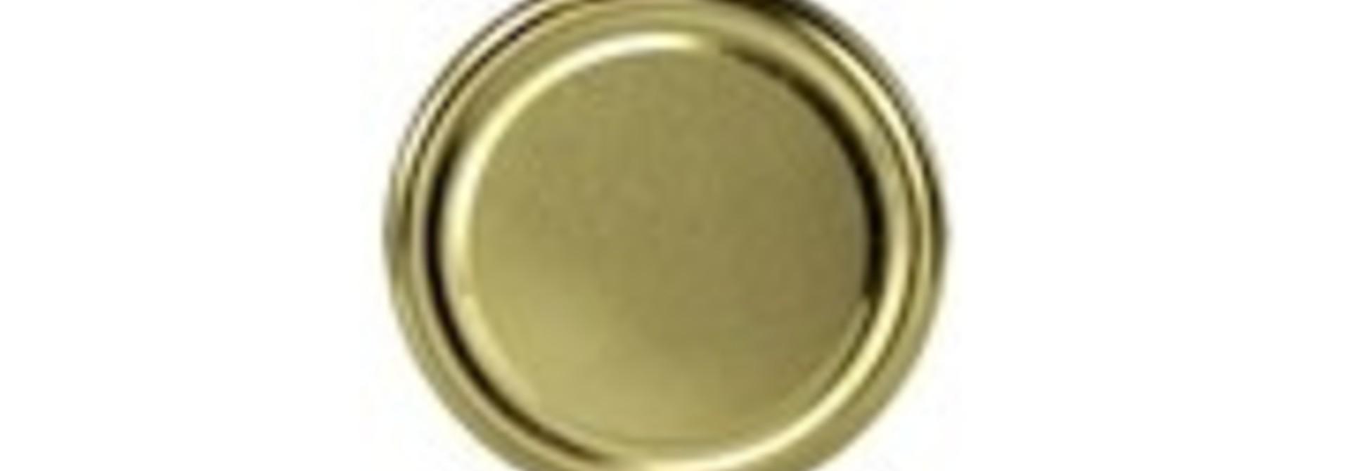 Deksel goud TO 58