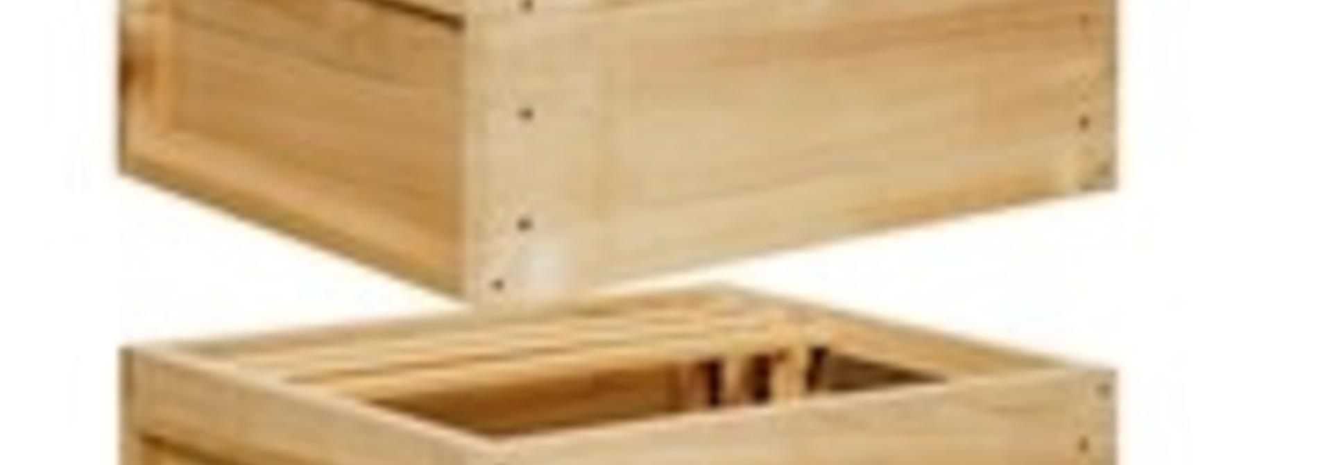 Complete houten Zander kast