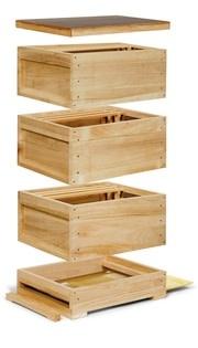 Complete houten Zander kast-1