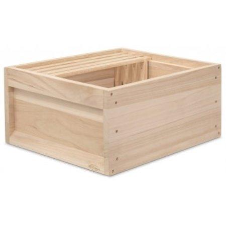Zander houten broedromp zonder ramen