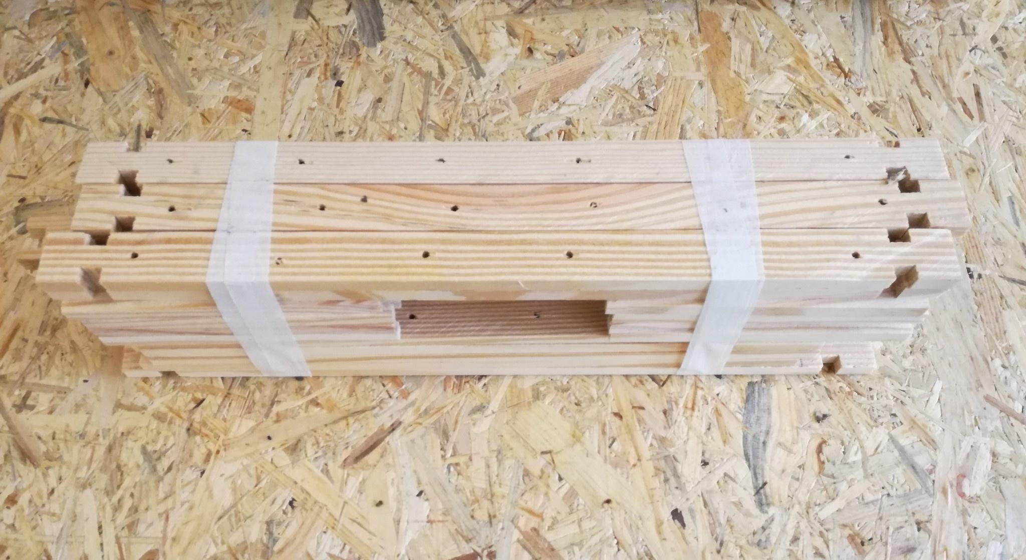 Bouwpakket 10 simplex honingramen-1