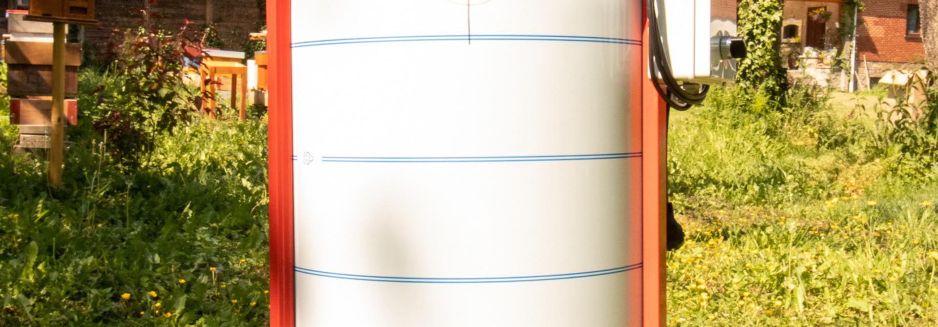 Apini - Elektrische 4 raams honingslinger ø500mm