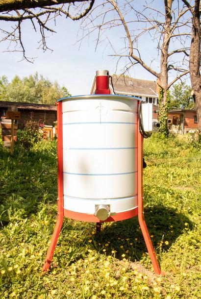 Apini - Extracteur de miel électrique 4/8 cadres ø500mm (coupe en inox)