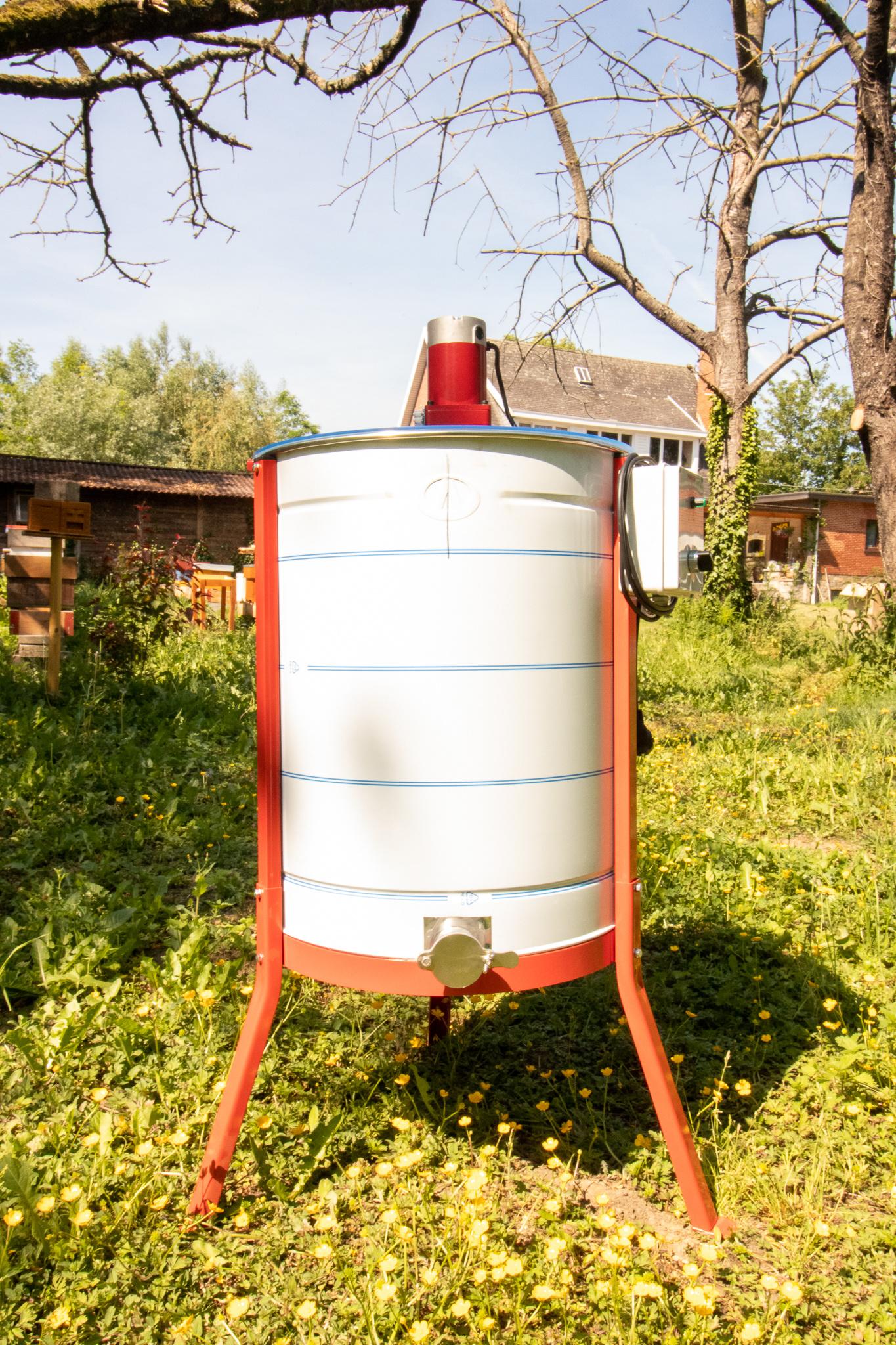 Apini - Elektrische 4 raams honingslinger ø500mm-1