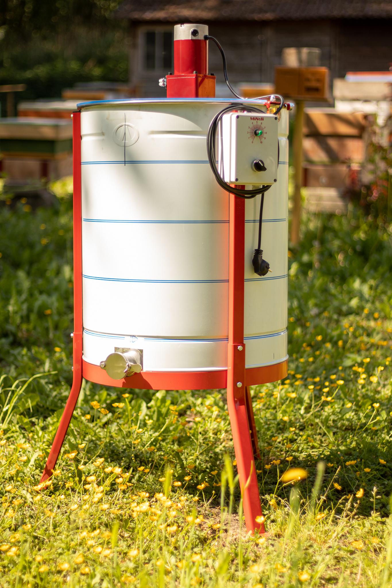 Apini - Elektrische 4 raams honingslinger ø500mm-2