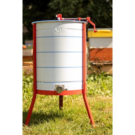 Apini - Extracteur de miel manuelle 3/6 cadres ø500mm (coupe en inox)