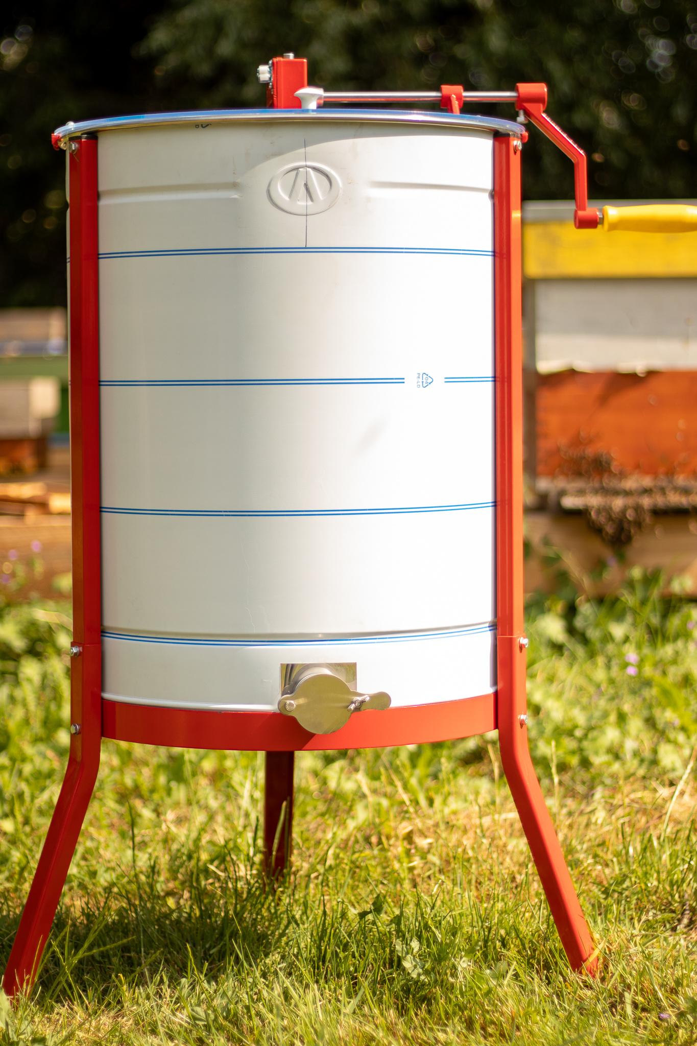 Apini - Extracteur de miel manuelle 4 cadres ø500mm-1