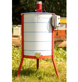 Apini - Electrical honey extractor 3/6 frames ø500mm (stainless steel honey gate)