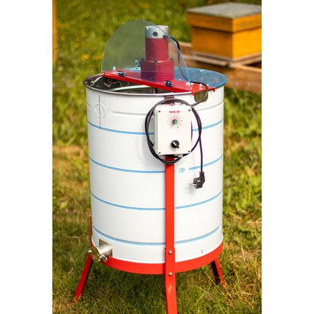 Apini - Extracteur de miel électrique 3/6 cadres ø500mm (coupe en inox)