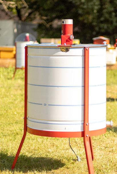 Apini - Extracteur de miel électrique 6 cadres ø600mm (coupe en inox)