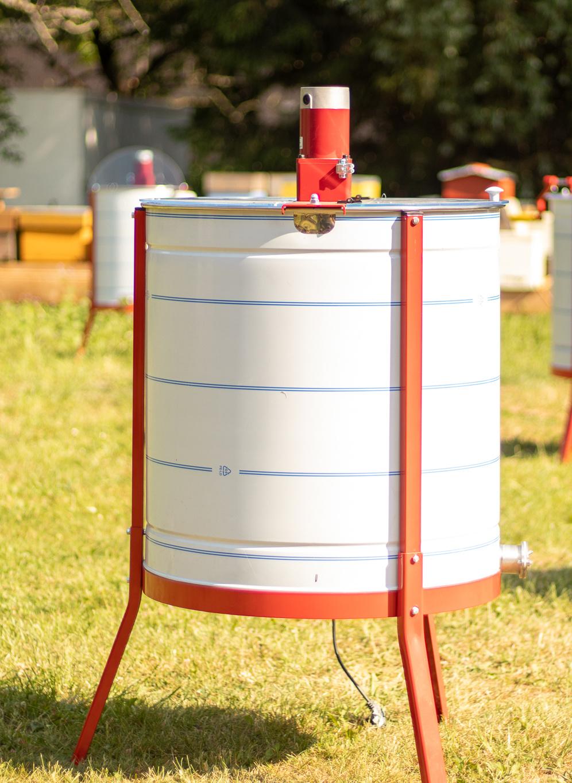 Apini - Elektrische 6 raams honingslinger ø600mm-1