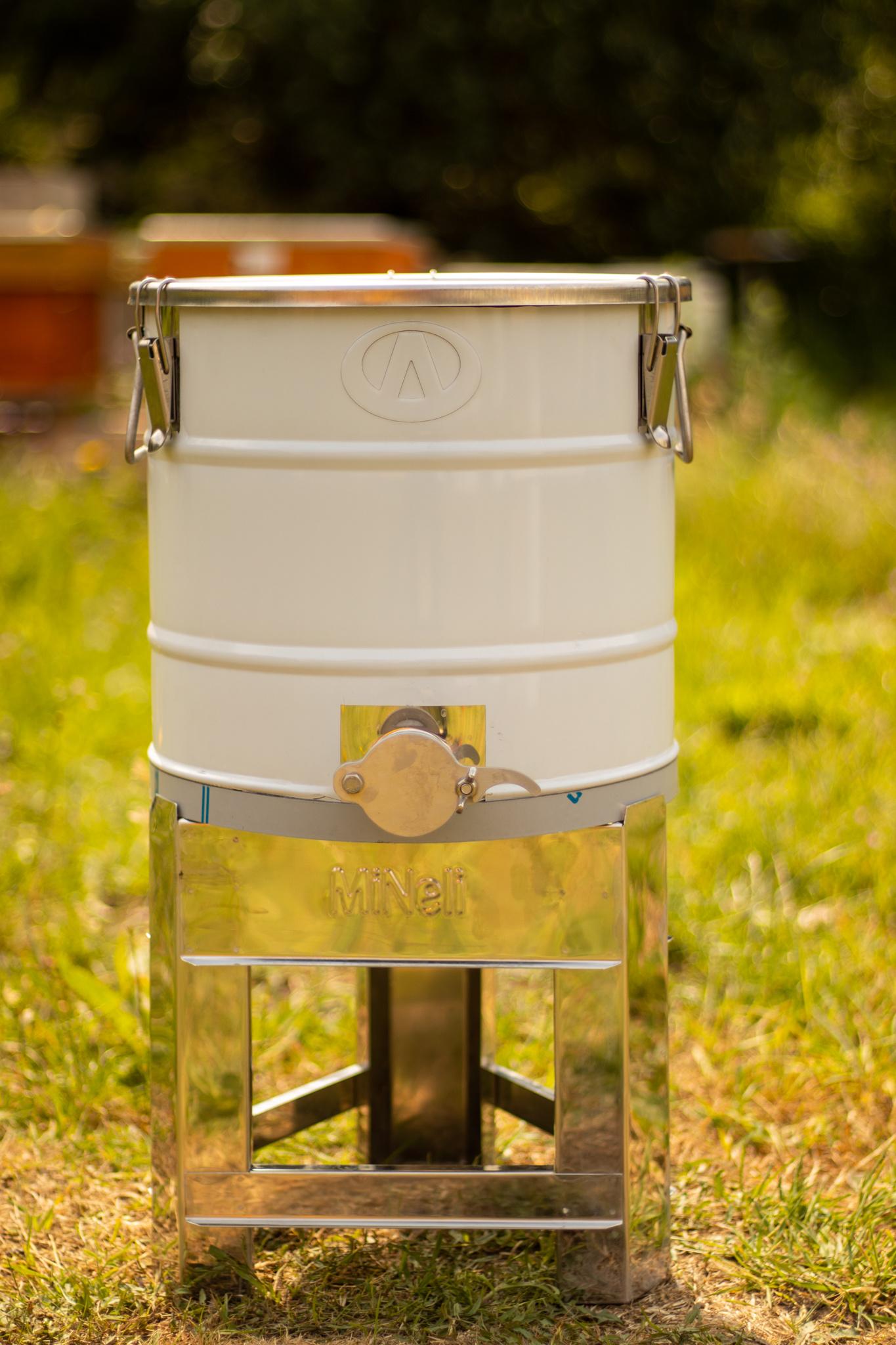 Apini rijper - 30 kg met inox snijkraan en hermetische dichting-2