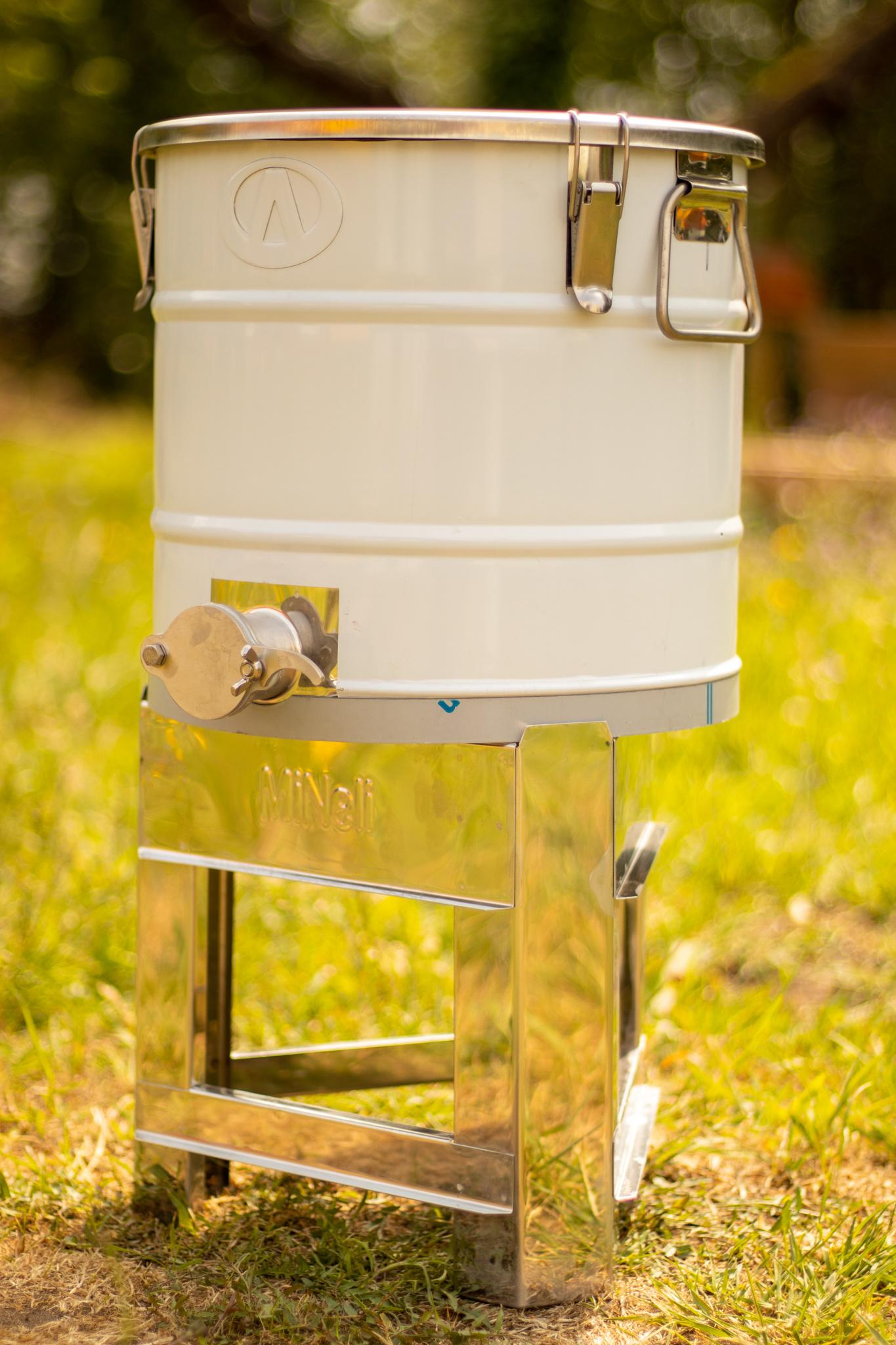 Apini rijper - 30 kg met inox snijkraan en hermetische dichting-3
