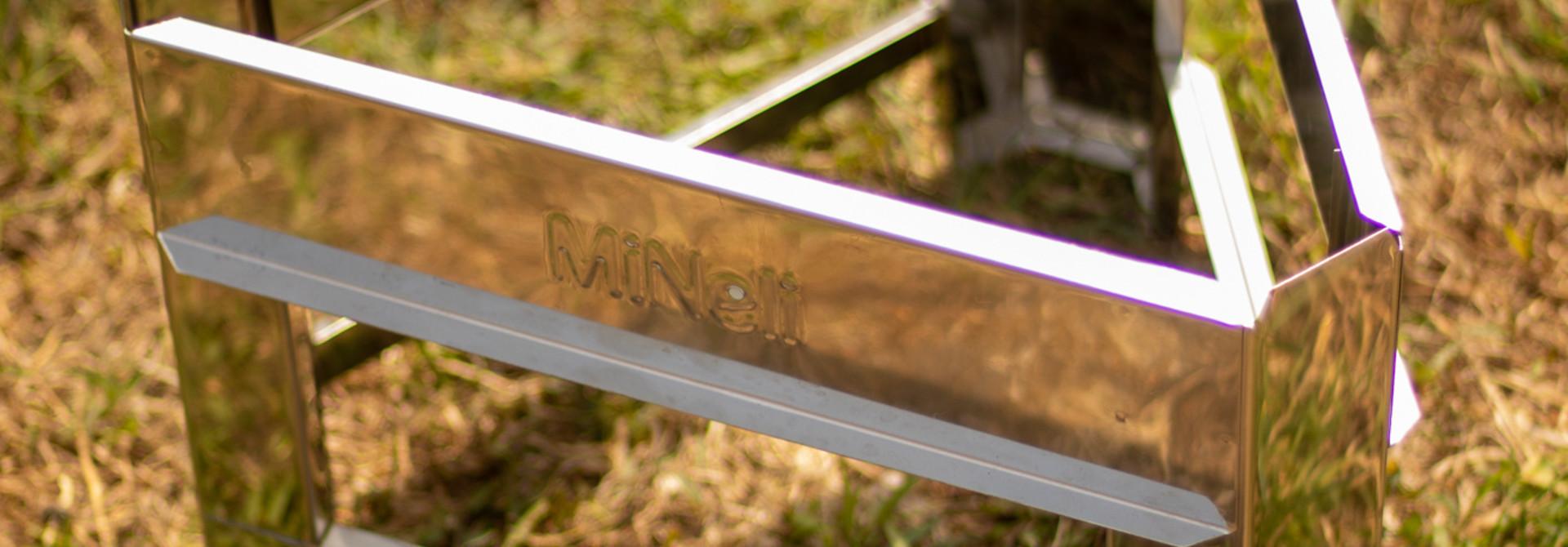 Apini - Inox stand voor rijper 50kg