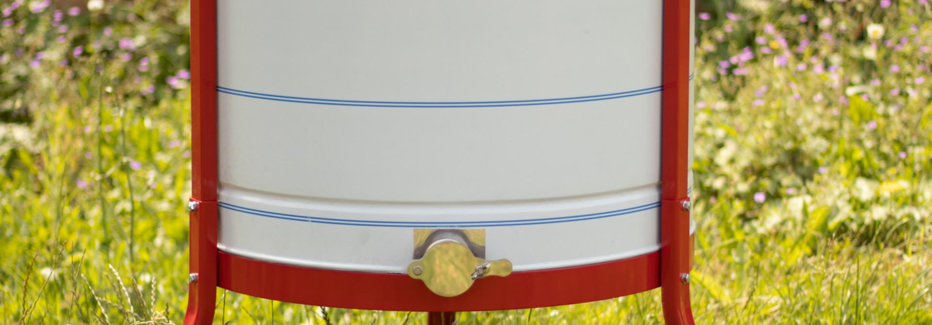 Apini - Manuele 6 raams honingslinger ø600mm (inox kraan)