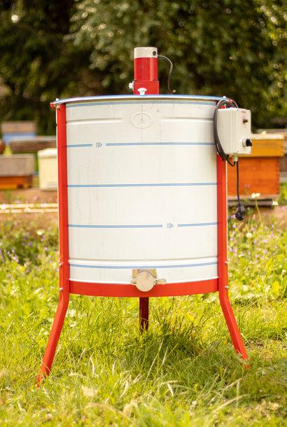 Apini - Extracteur de miel électrique 12 cadres ø600mm (coupe en inox)