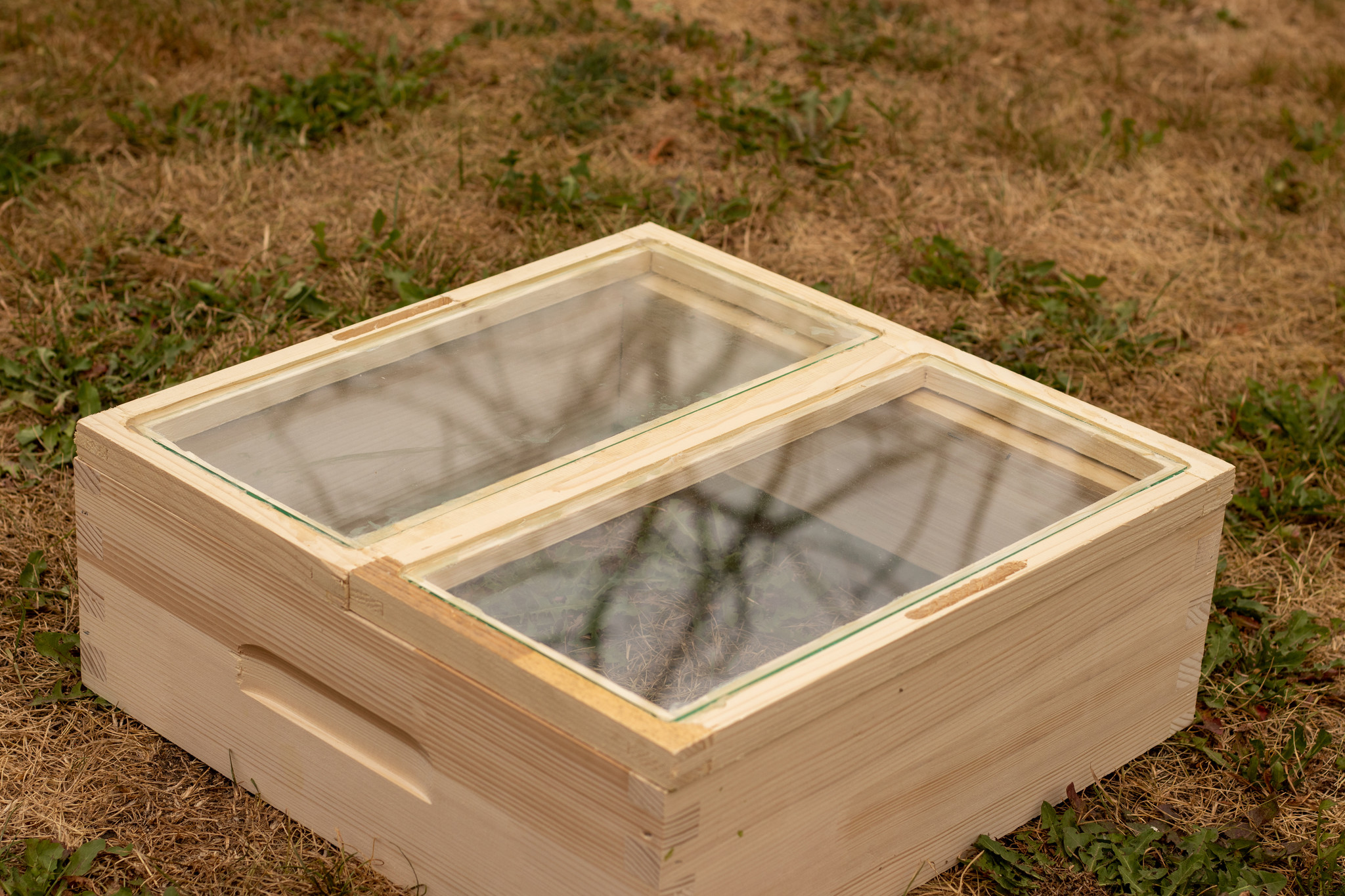 Simplex dubbele glazen afdekplaat - imperfectie-1