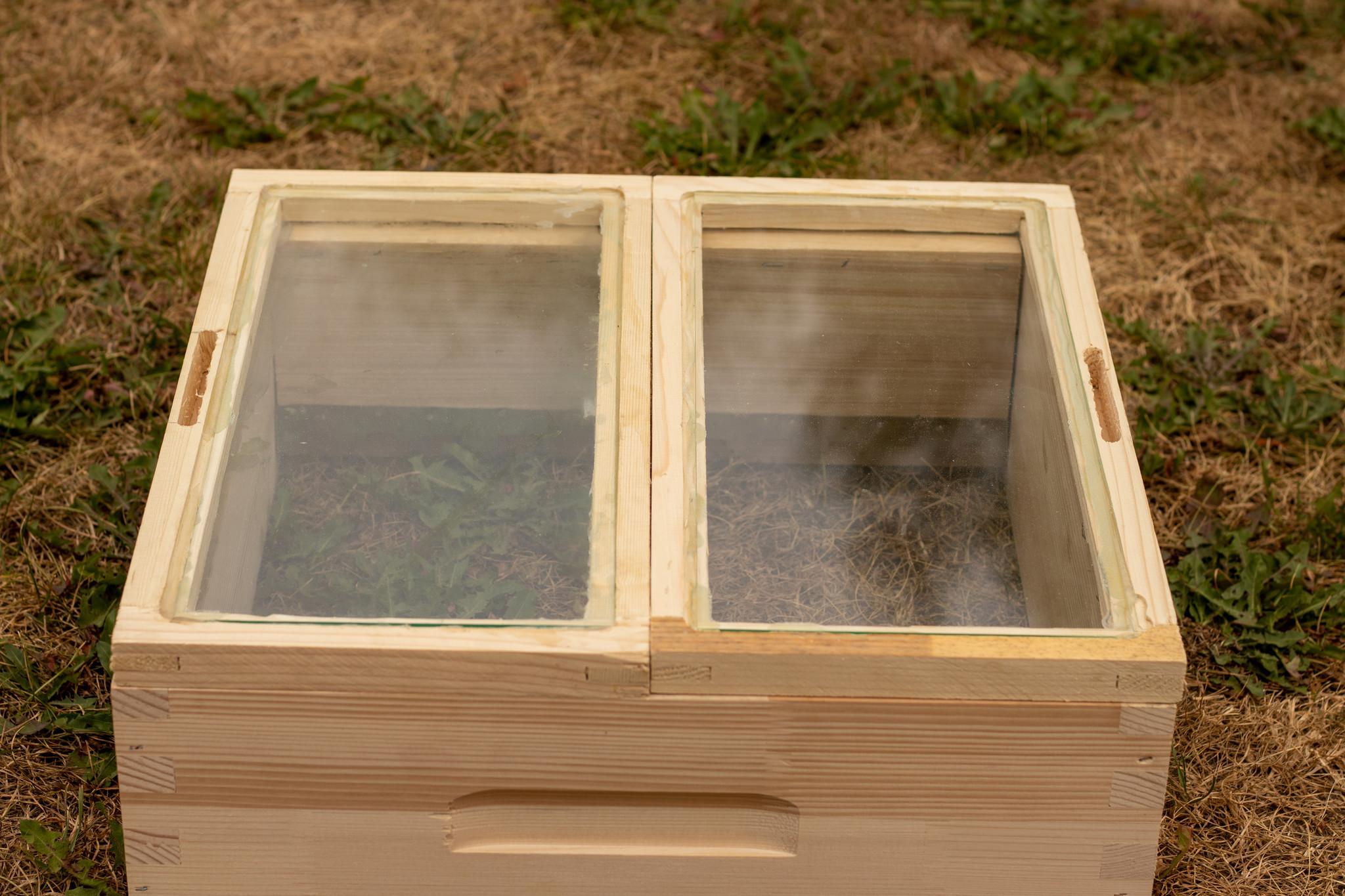 Simplex dubbele glazen afdekplaat - imperfectie-2