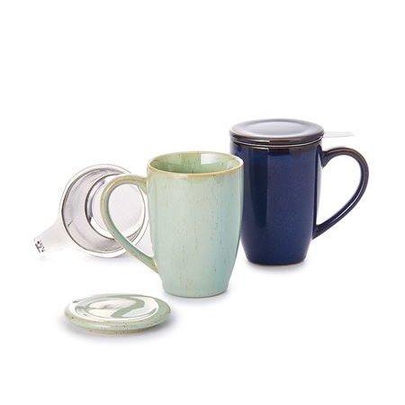 "Herbal tea cup ""Lio"" - green"
