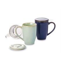 "Herbal tea cup ""Lio"" - blue"