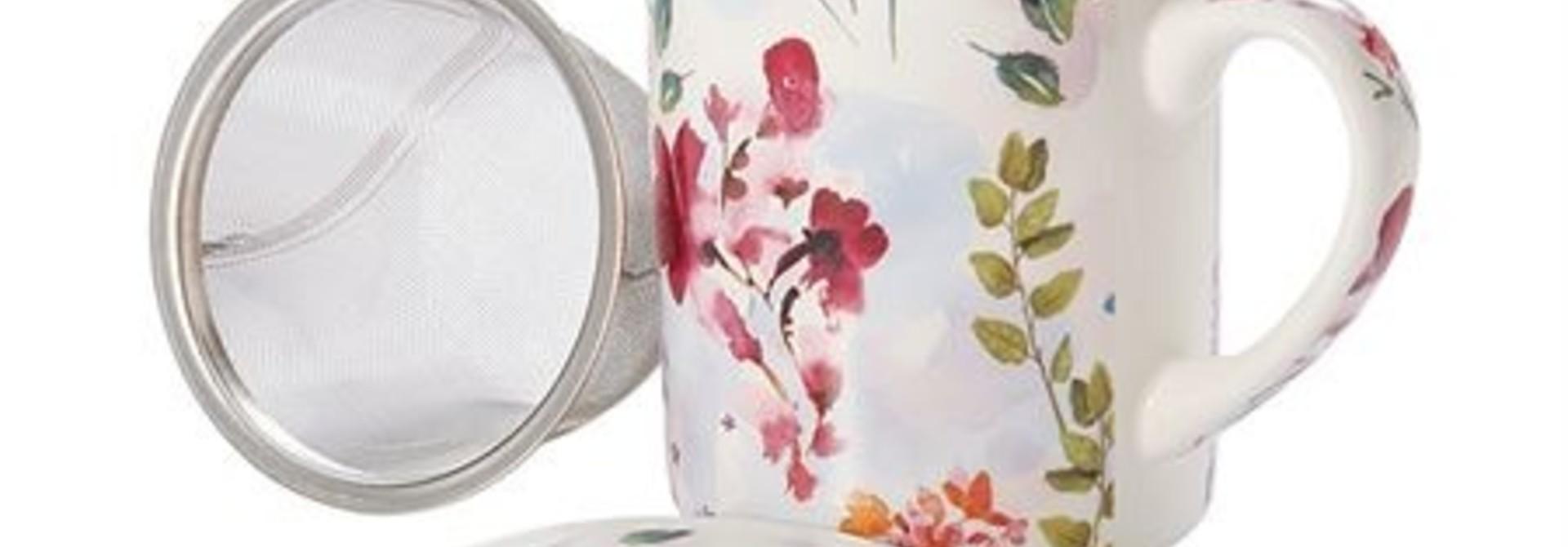 Elfie 'herbal tea tas' - driedelige set