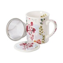Elfie 'herbal tea mug' - three-piece set