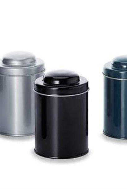 Reusable tea box (gray) - 150 grams