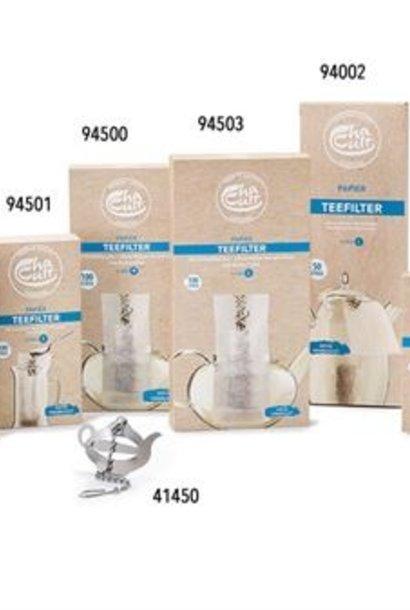 Paper filter bag / small teapot UNBLEACHED (100 pcs)