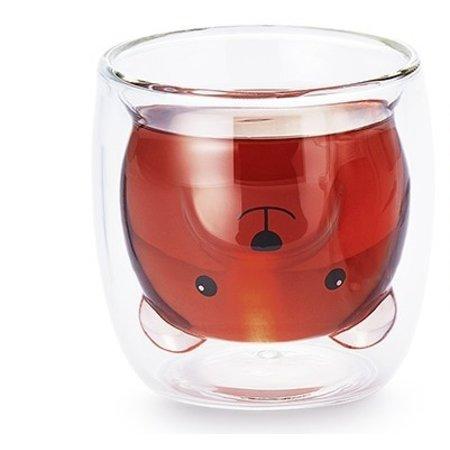 Pat - dubbelwandig glas (zonder snoet)
