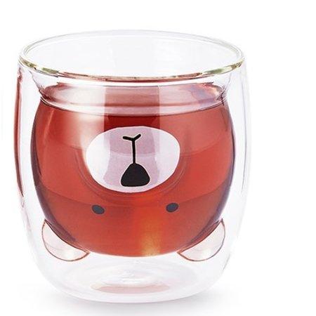 Pat - dubbelwandig glas (met snoet)