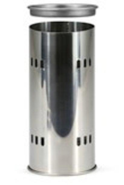 Inox koker  voor zwavelstokken