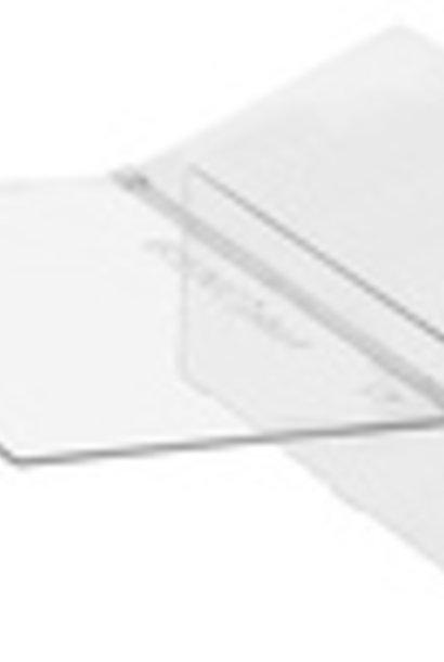 Plexi cover square feeder bienoplast