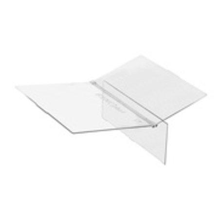 Plexi afdekplaat vierkante voederbak