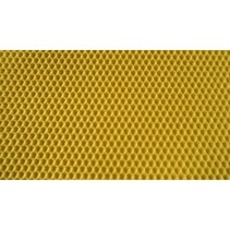 Certified beeswax foundation - DN 1/2