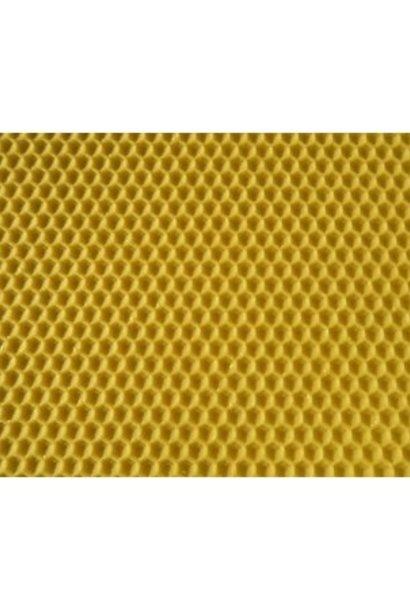 Feuilles en cire d'abeille certifiée - Langstroth