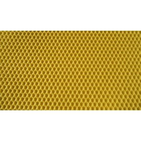 Feuilles en cire d'abeille certifiée - Hausse Dadant-1