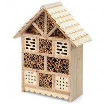 Insect hotel for wild bees