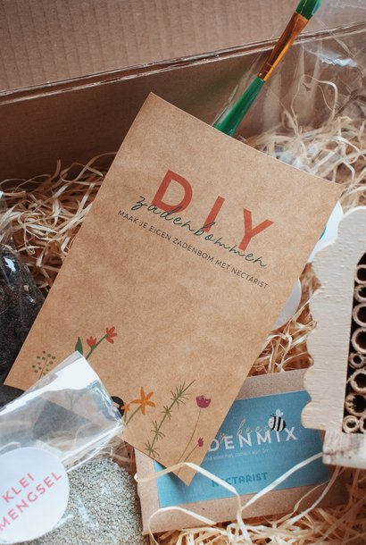 DIY zadenbom + insectenhotel