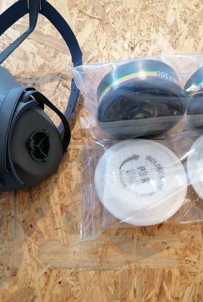 Halfgelaatsmasker - bescherming tegen mierenzuur/oxaalzuur