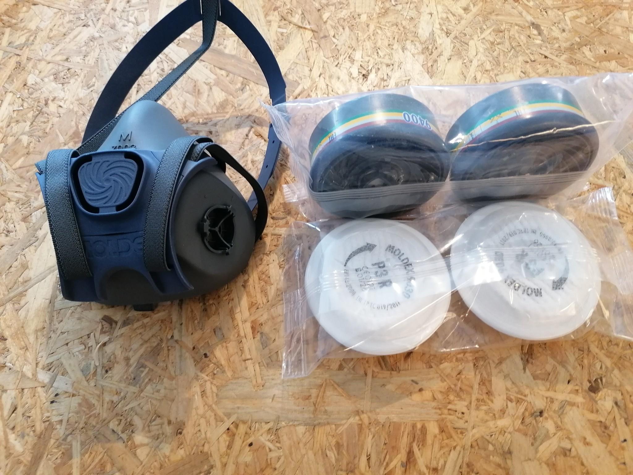 Halfgelaatsmasker - bescherming tegen mierenzuur/oxaalzuur-1