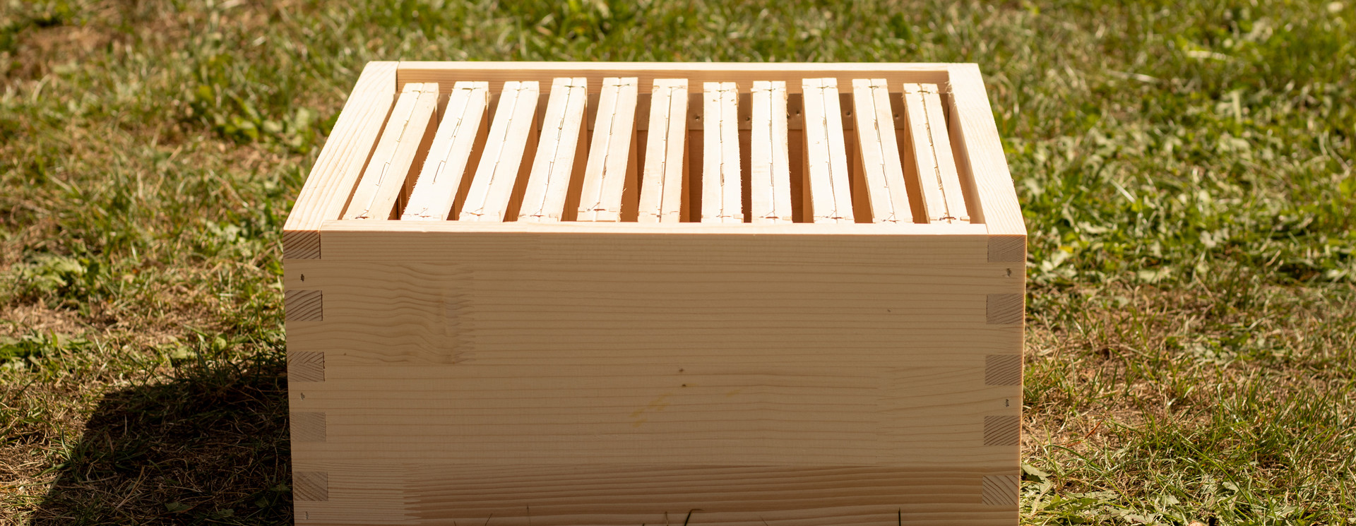Houten bijenkasten