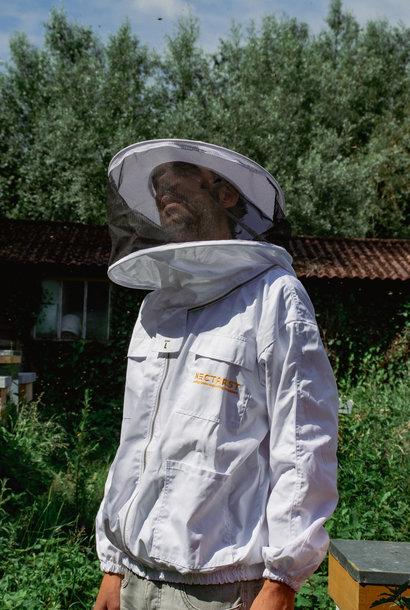 Blouson d'apiculteur avec voile ronde