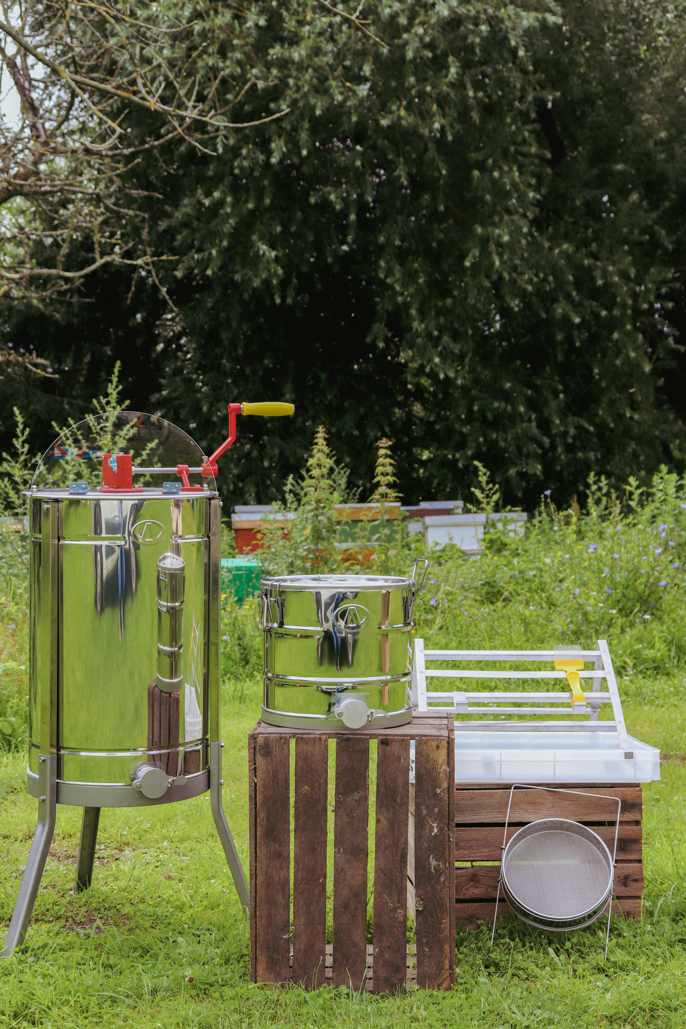 Starterspakket 'honingoogst 1 - 5 bijenkasten'-1