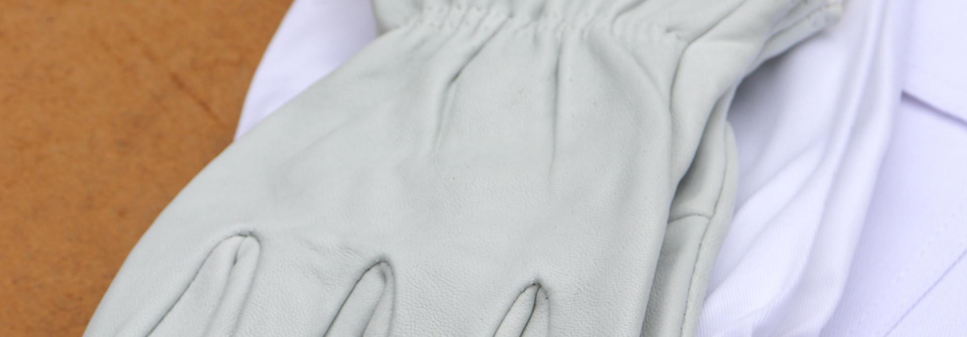 Lederen handschoenen