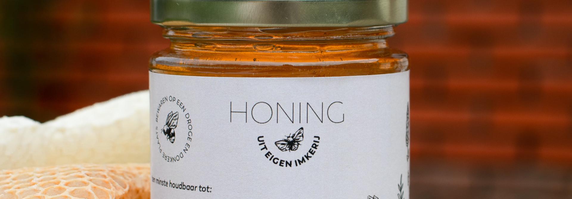 Honingetiket Stickervel 10st