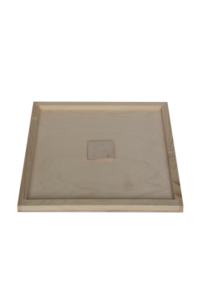 Wooden inner cover with feeding hole Simplex