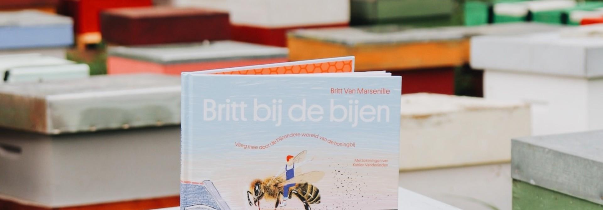 Kinderboek britt bij de bijen