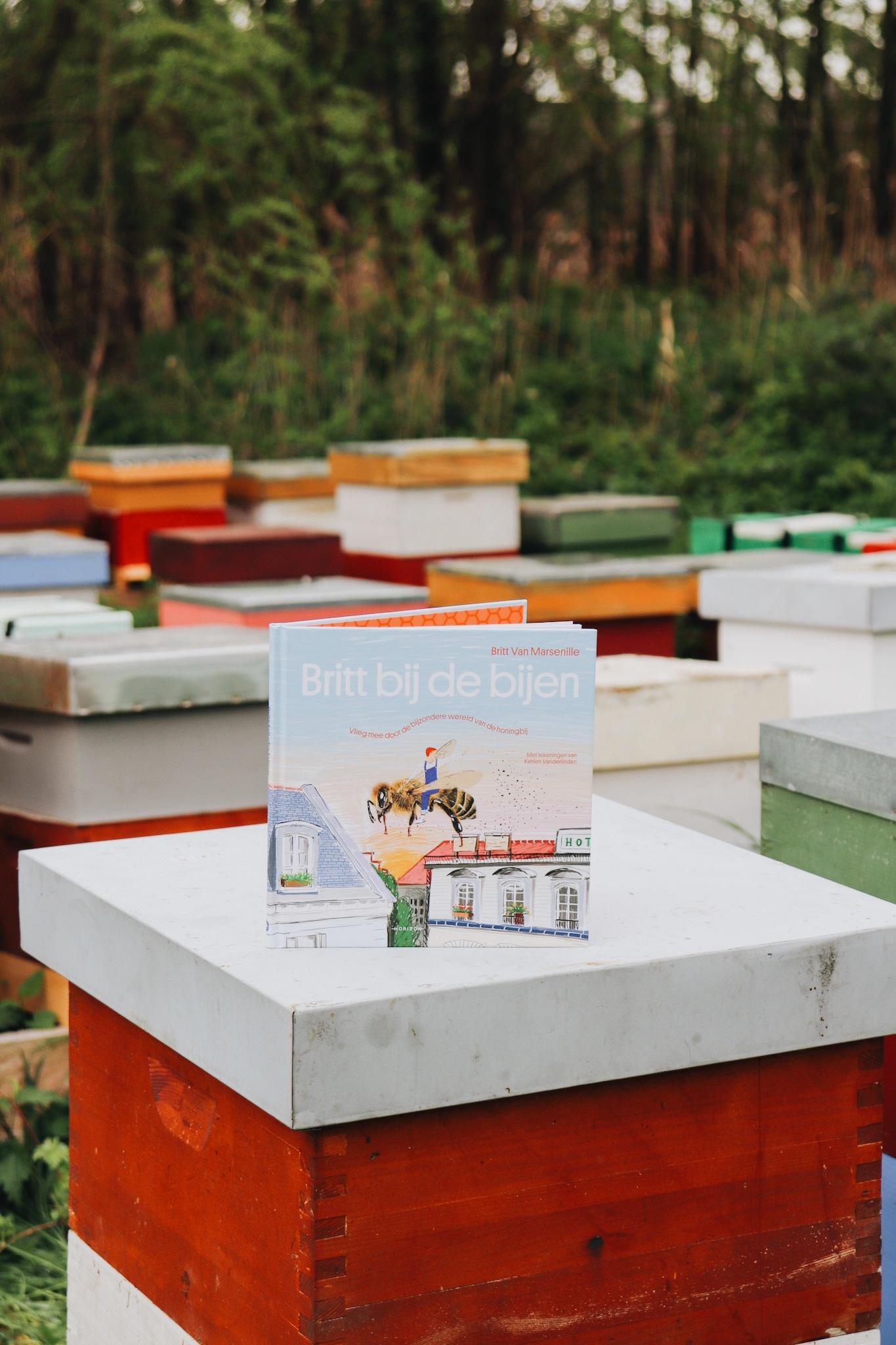 Kinderboek britt bij de bijen-1